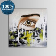 100% Hand Painted Abstract Oil Painting (DK-JX-YH020)
