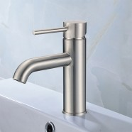 Basin&Sink Faucet - Brass in Brushed Nickel (81H13-BN)