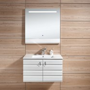 31 In. Wall-Mount Bathroom Vanity Set with LED Mirror (DK-613800)
