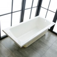 67 In Drop-in Bathtub - Acrylic White (DK-BYC1700)