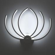 Iron Built Modern LED Acrylic Wall Sconce (DK-W0025)