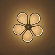 Iron Built Modern LED Acrylic Wall Sconce (DK-W0019)