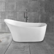 67 In Single Slipper Freestanding Bathtub – Acrylic Pure White (DK-PW-45778)