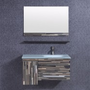 36 In. Bathroom Vanity Set with Single Sink and Mirror (DK-TH9030)