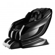 Zero Gravity Heated Reclining L-Track Massage Chair in Black (DLA10-C)