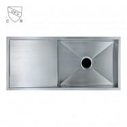 Stainless Steel Single Bowl Kitchen Sink (DK-SC-ABR2918-R0)