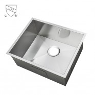 25 x 22 In. Stainless Steel Single Bowl Kitchen Sink (AS2522-R0)