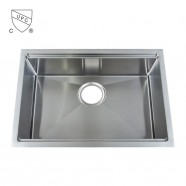 Stainless Steel Single Bowl Kitchen Sink (DK-SC-ALR2819-R10)