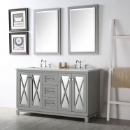 60 In. Bathroom Vanity Set without Mirror (DK-6460-CG)