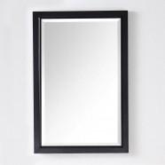 24 x 36 In Bath Vanity Décor Mirror with Espresso Frame (DK-6000-EM)