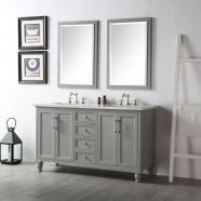 60 In. Bathroom Vanity Set without Mirror (DK-6560-CG)