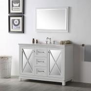 48 In. Bathroom Vanity Set without Mirror (DK-6448-W)