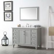 48 In. Bathroom Vanity Set without Mirror (DK-6548-CG)
