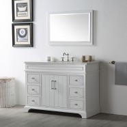 48 In. Bathroom Vanity Set without Mirror (DK-6748-W)