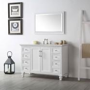 48 In. Bathroom Vanity Set without Mirror (DK-6548-W)