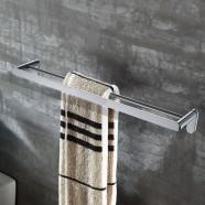 Double Towel Bar 23.4 Inch - Chrome Brass (50310)