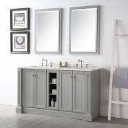 60 In. Bathroom Vanity Set without Mirror (DK-6360-CG)