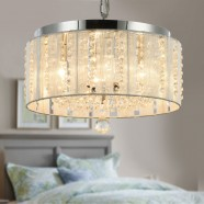 5-Light Crystal Ceiling Light (DK-12016Y)