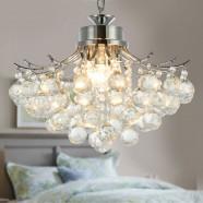 3-Light Modern Crystal Chandelier (DK-RL4296)