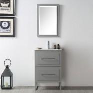 24 In. Freestanding Bathroom Vanity Set without Mirror (DK-6824-CG)