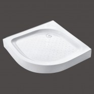 39 x 39 ln White Shower Base (DK-T113)