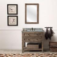 36 In. Freestanding Bathroom Vanity (DK-WH9136-BR)