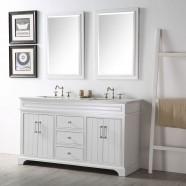 60 In. Bathroom Vanity Set (DK-6760-W-SET)