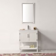30 In. Boxwood Freestanding Bathroom Vanity Set (DK-5930-W-SET)