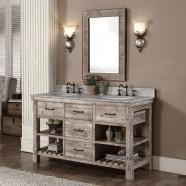 60 In. Freestanding Bathroom Vanity Set (DK-WK9360-SET)