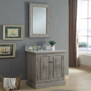 36 In. Freestanding Bathroom Vanity Set (DK-WK9436-SET)