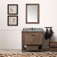36 In. Freestanding Bathroom Vanity Set (DK-WH6236-BR-SET)