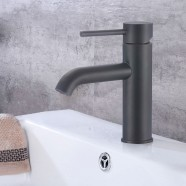 Basin&Sink Faucet - Brass with Matte Black Finish (81H13-MB)