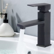 Basin&Sink Faucet - Brass with Matte Black Finish (81H24-MB-A)