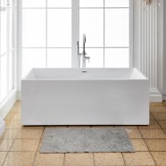 70 In Freestanding Bathtub - Acrylic Pure White (DK-PW-1564)