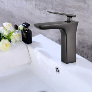 In-Wall Basin&Sink Faucet - Brass with Matte Black Finish (YDL-T13OR)
