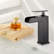 Basin&Sink Faucet - Brass with Matte Black Finish (YDL-8001OR)