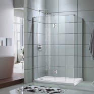 48 In. Pivot Shower Door with 36 In. Side Panel (DK-D205-90)