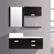 51 In. Espresso Plywood Vanity Sets (DK-T9099B-SET)