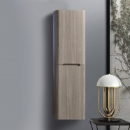 16 x 60 In. Wall Mount Linen Cabinet (BNW1200D-S)