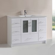 48 In. Plywood Vanity with Top Basin (DK-T9312-48WV)