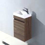 16 In. Wall Mount Vanity with Basin (MS400D-V)