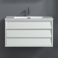 32 In. Wall Mount Vanity with Basin (VSW8003-V)