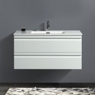 40 In. Wall Mount Vanity with Basin (ZRW1002WH-V)