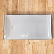 60 x 32 In Rectangular Shower Base with Tiling Flanges (DK-T302)
