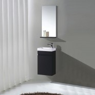 16 In. Wall Mount Vanity Set with Mirror (MS400B-SET)