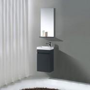 16 In. Wall Mount Vanity Set with Mirror (MS400C-SET)