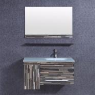 36 In. Bathroom Vanity Set with Single Sink and Mirror (DK-TH9030-SET)