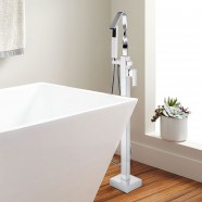 Freestanding Bathtub Faucet - Brass with Chrome Finish (YDL-Y9127)