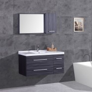 40 In. Plywood Vanity, Basin and Mirror Cabinet (DK-T5041-SET)