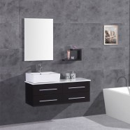 48 In. Plywood Vanity Set with Basin and Mirror (DK-T9099C-SET)